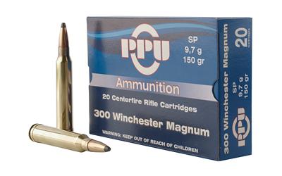 PPU 300WIN MAG SP 150GR 20/500