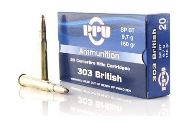 PPU 303 BRITISH SP 150GR 20/500