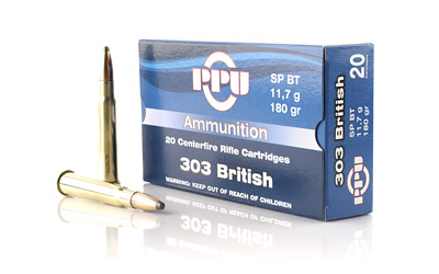 PPU 303 BRITISH SP 180GR 20/500