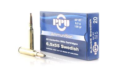 PPU 6.5X55 SWEDISH SP 139GR 20/500
