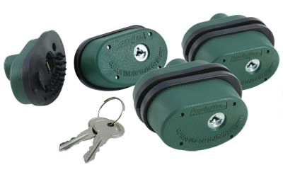 REM TRIGGER LOCK 3-PK KEYED ALIKE