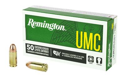 REM UMC 9MM 115GR FMJ 50/500