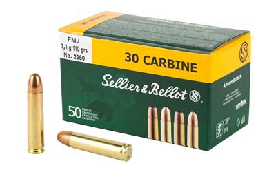 S&B 30CARBINE 110GR FMJ 50/1000