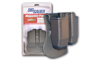 SIGTAC DBL MAG POUCH P226 BLK POLY