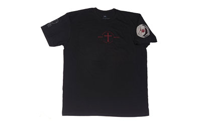 SPIKE'S TSHIRT IF GOD BE FOR BLK SM