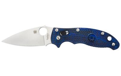 SPYDERCO MANIX2 BLUE FRCP PLAIN