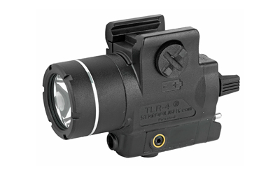 STRMLGHT TLR-4 TAC LIGHT/LASER BLK