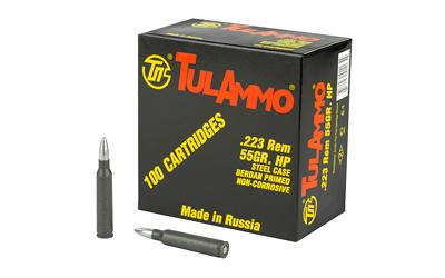 TULA 223REM 55GR HP 100/1000