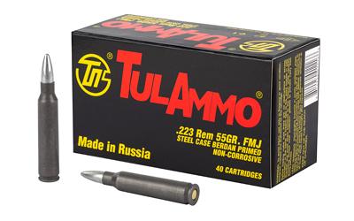 TULA 223REM 55GR FMJ 40/1000