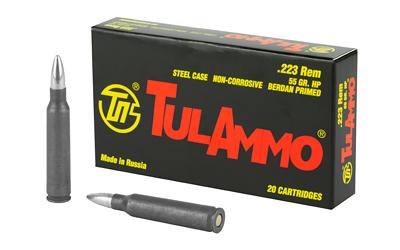 TULA 223REM 55GR HP 20/1000