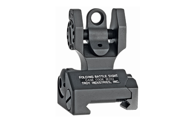 TROY FLDNG REAR BATTLE SIGHT BLK