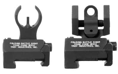 TROY BATTLESIGHT MICRO FRNT/REAR BLK