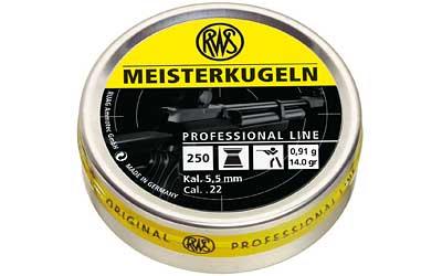 RWS PLTS .22 MEISTERKUGELN 250/TIN