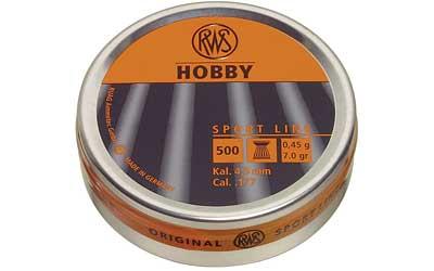 RWS PLTS .177 HOBBY 500/TIN