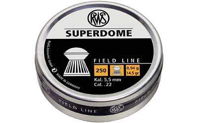 RWS PLTS .22 SUPERDOME 250/TIN