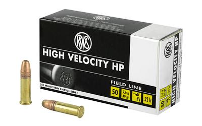 RWS 22LR HIGH VEL HP 40GR 50/5000