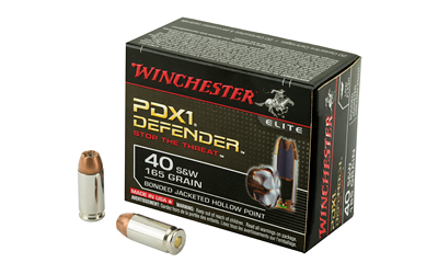 WIN DEFENDER 40SW 165GR JHP 20/200