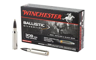 WIN BALLISTIC TIP 308WIN 168GR 20/