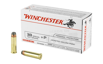 WIN USA 38SPL+P 125GR JHP 50/500