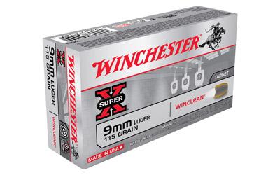 WIN SPRX WINCLEAN 9MM 115GR 50/500