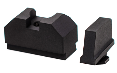 ZEV SIGHT SET .300 BLK FRNT COW REAR
